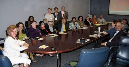 Los participantes de la Sesión Informativa de Sigma Delta Pi.