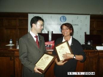 Israel Rolón Barada y Cristina Cerezales Laforet.