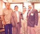 Annamaria Colavita-Jacyszyn de la AATSP con algunos miembros del Comité Ejecutivo.