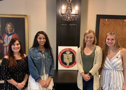 Spartanburg Methodist 1st induction ceremony fall 2019